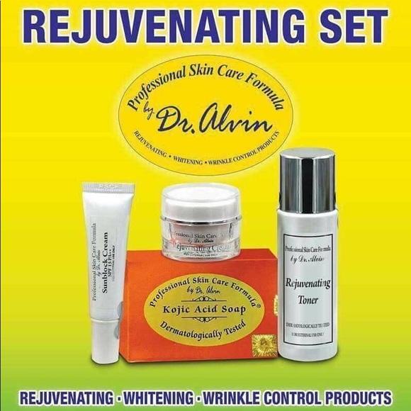 Professional Skin Care Formula By Dr Alvin Other Rejuvenating Set By Dr Alvin Poshmark